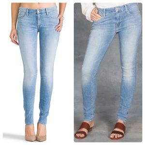 Mother The Looker Light Kitty Skinny Jeans